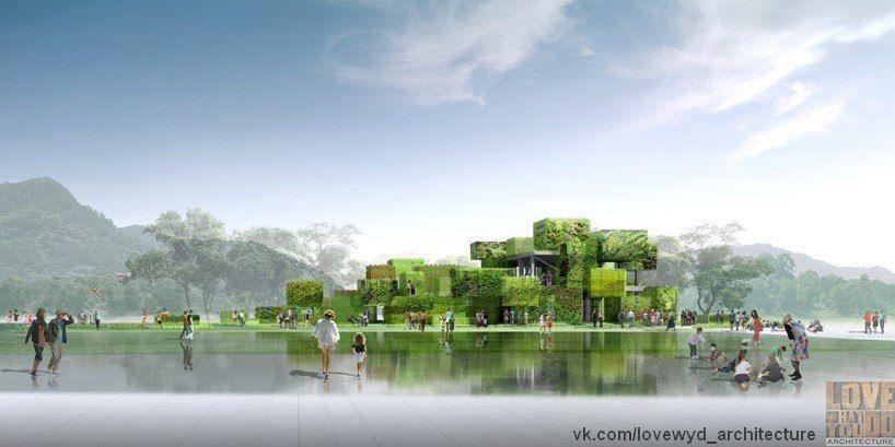 творческое пространство под открытым небом в Китайском национальном парке Фуздзиянь/ studio pei-zhu