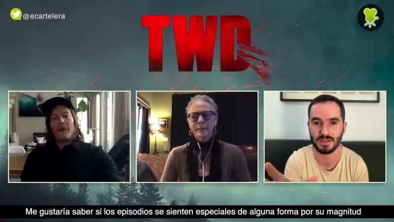 The Walking Dead Los deseos de Norman Reedus y Melissa McBride para el final de la serie - eCarte