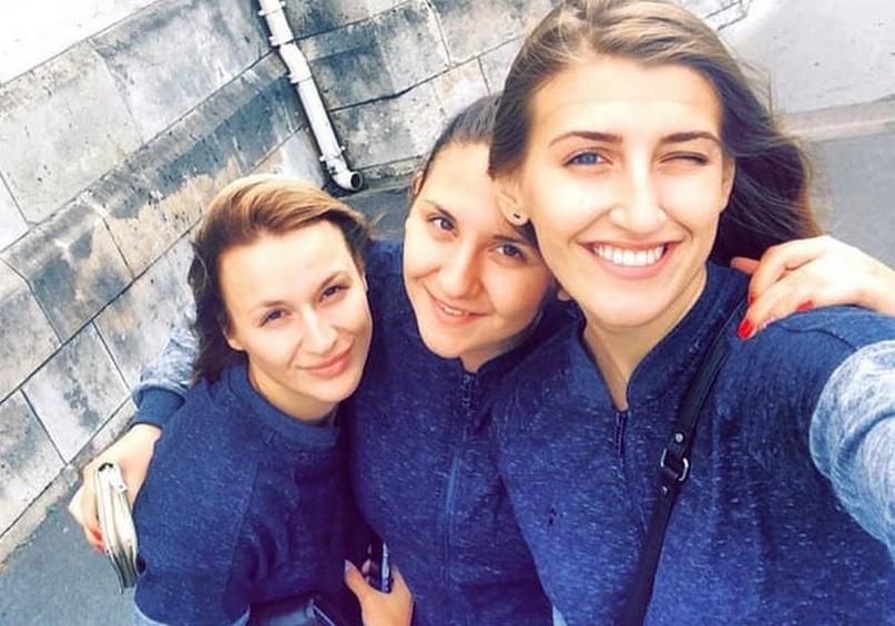 Ольга Фомина, Драгана Петковска и Алена Ихнева