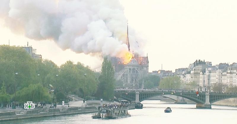 Пожар в Нотр-Даме какие части собора утрачены безвозвратно