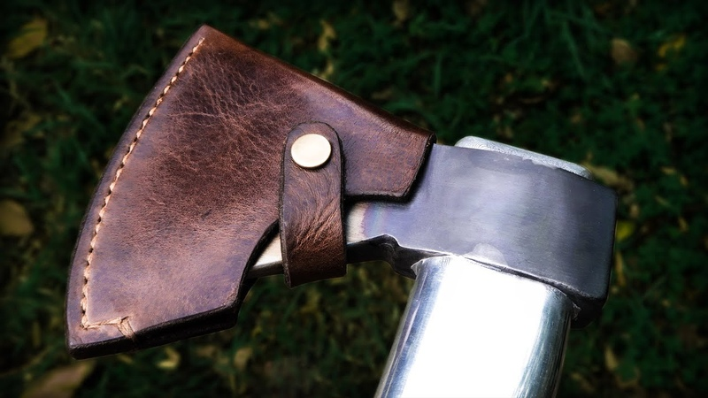 Leather Axe Sheath | Easy DIY
