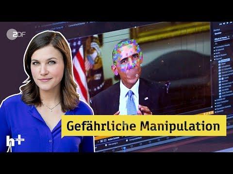 Deepfakes Videos manipuliert in Echtzeit heute Livestream ZDF
