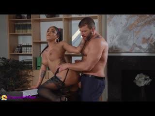 TS Jane Marie соблазнила Босса (1080p Shemale Trans Transsexual