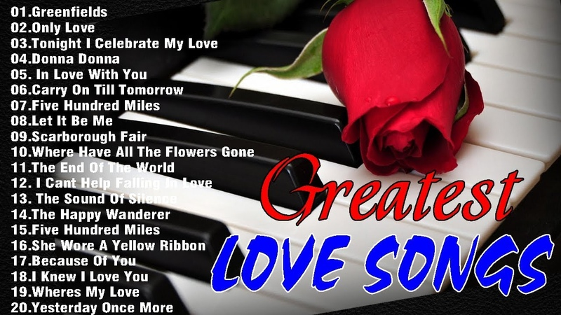 Relaxing Beautiful Love Songs 70s 80s 90s Playlist Greatest Hits Love Songs Ever acoustic guitar