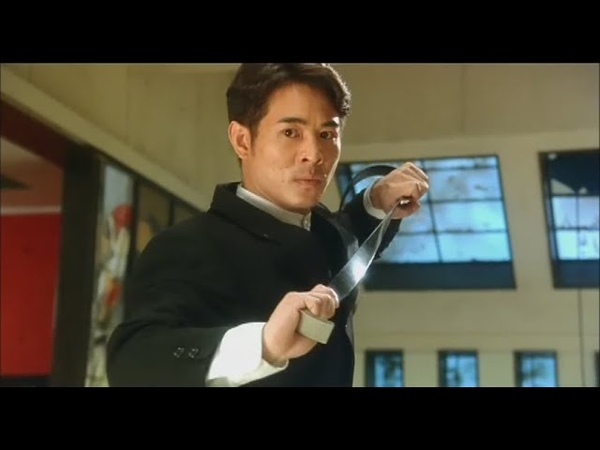 【Jet Li】Hitman - penthouse action scene (Cantonese with Eng subs)