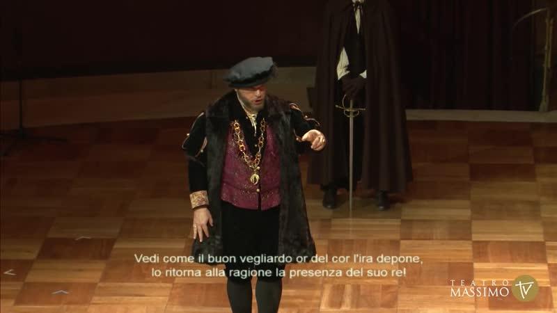 Верди Дж Эрнани Teatro Massimo di Palermo 2021 г