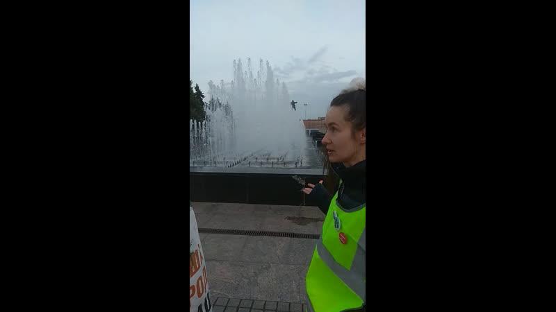 СПб. Бессрочка, фонтан...