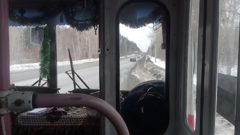 На троллейбусе ЗИУ по г Миасс 2