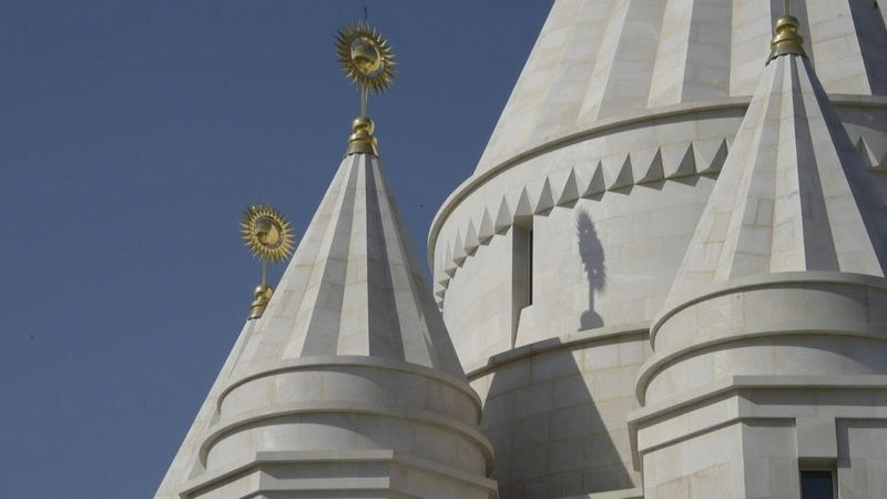 Long-persecuted Yazidis open worlds largest temple   AFP