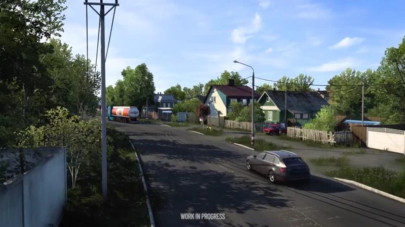 Потрясающий симулятор дальнобойщика в России