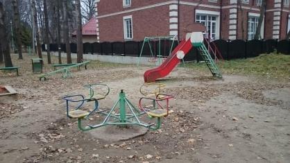 Маленькие ребенок пострадал в детсаду 355 московск...