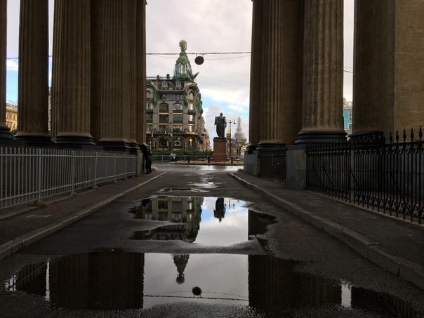 Осень в Петербурге укореняет зимние позицииНочные ...