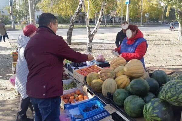 В Промышленном районе Самары на улице незаконно торговали...