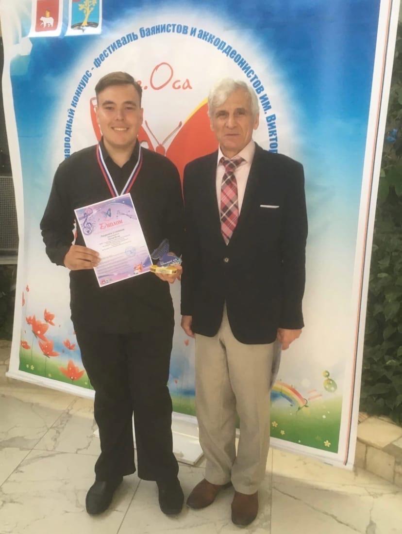 Егор Зотов из Можги стал победителем на