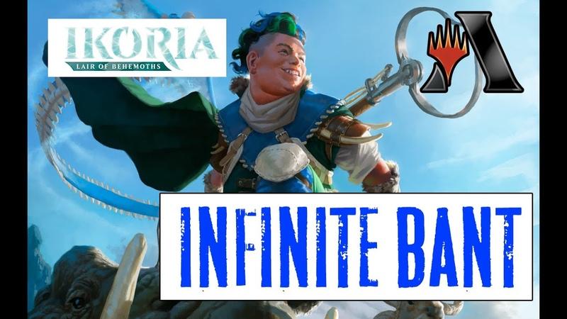 Infinite Bant ФАН в Стандарте MTG Arena Ikoria Standard DECK Guide FUN