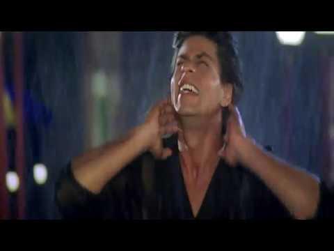 Шахрукх Кхан и Каджол в клипе Человек Дождя