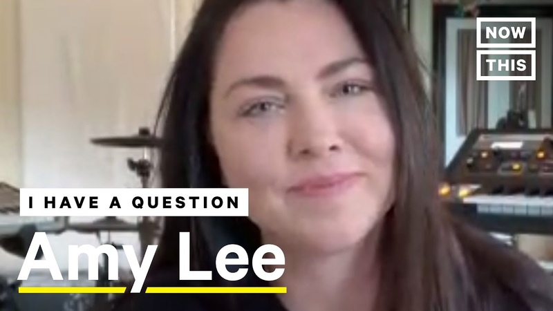 Evanescence Singer Amy Lee Opens Up About New Album NowThis
