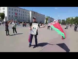 В Бресте задержали сторонника Лукашенко