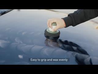 Губка с дозатором для полировки кузова Baseus