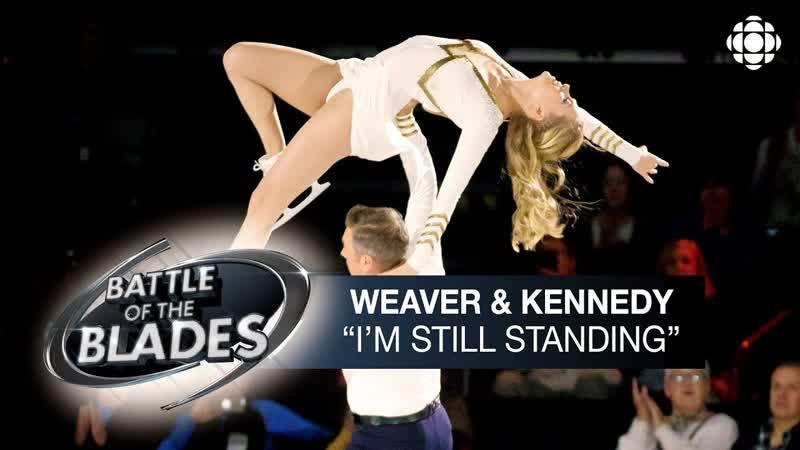 Kaitlyn Weaver and Sheldon Kennedy perform to Elton John's I'm Still Standing Battle of the Blades S05E06