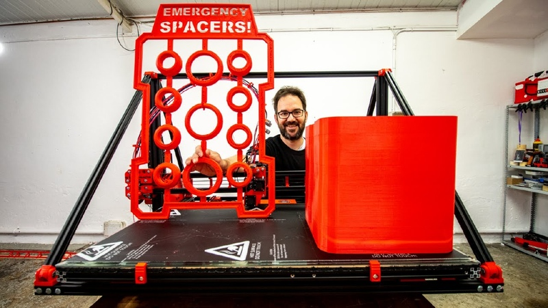GIANT 3D PRINTER FROM SCRATCH new version