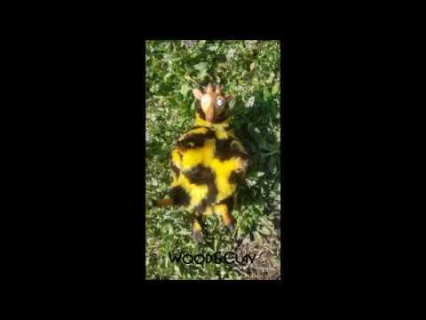 Тонировка пастелью Красим жирафа Часть 2 Смешанная техника