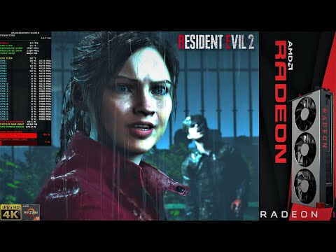 Resident Evil 2 Remake 4K DX12 Ultra Settings HDR RADEON VII LC Ryzen 9 3900X 4 5GHz CCD