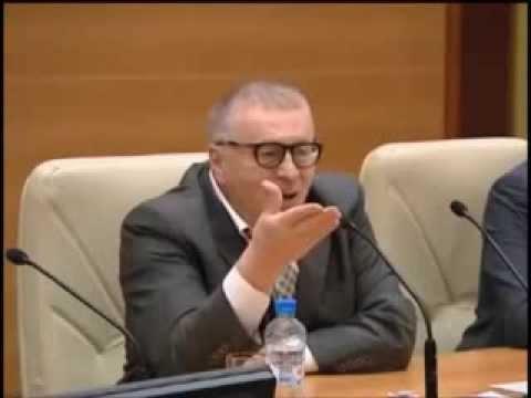 Жириновскиий Эта дура не понимает что он ее не любит