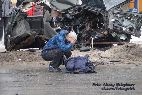 Смертельное ДТП произошло в Нижнем Новгороде  Водитель автомобиля ВАЗ-2110...