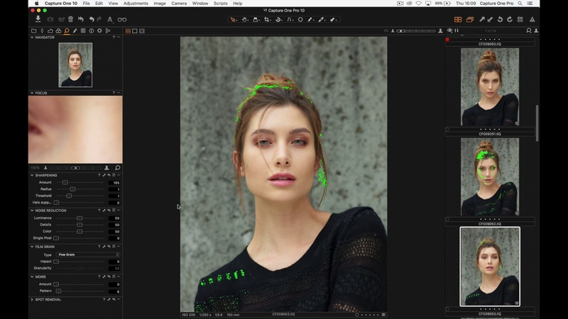 Capture One Pro 10 Webinar Culling Selecting Rating