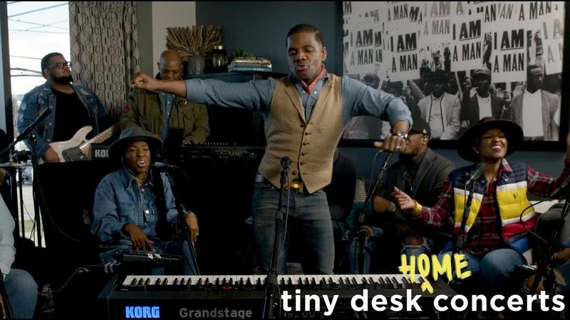 Kirk Franklin Tiny Desk Home Concert