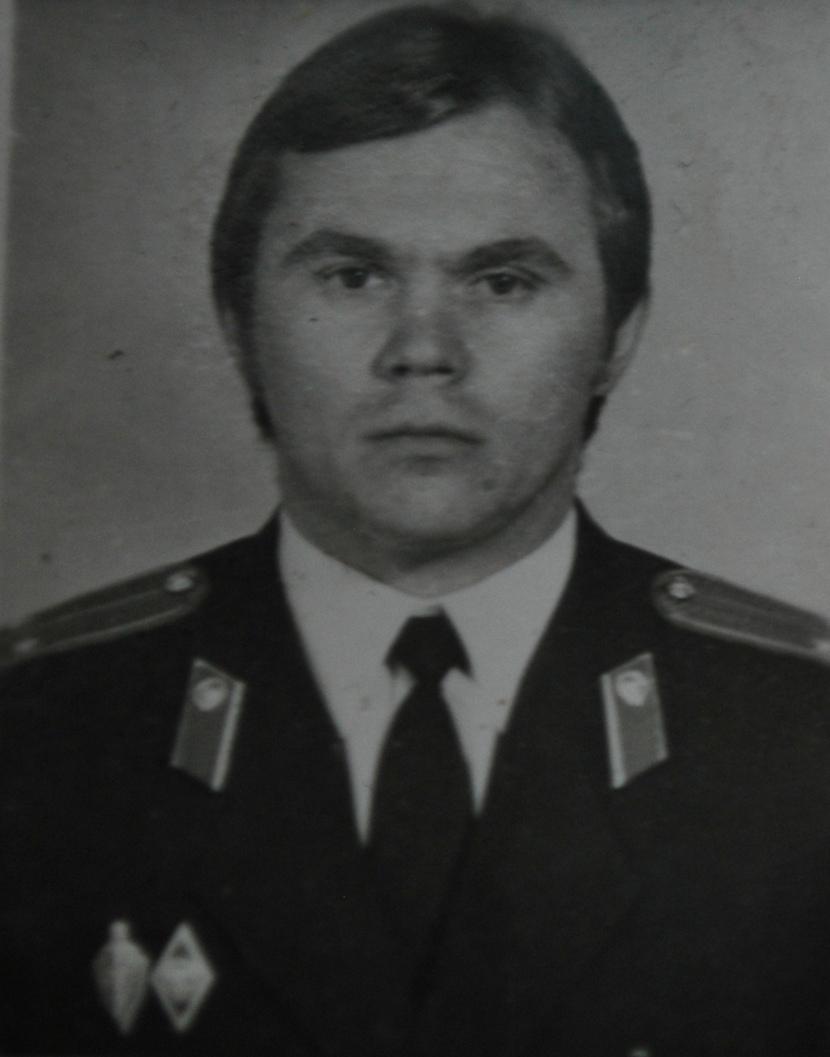 Лейтенант МВД СССР. Ульяновск. 1976 год.