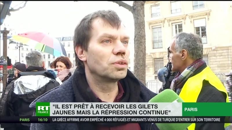 Acte 68 des Gilets jaunes Macron est prêt à nous recevoir mais la répression continue