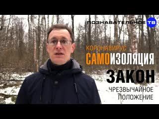 САМОИЗОЛЯЦИЯ законна Почему Путин не объявит ЧРЕЗВЫЧАЙНОЕ ПОЛОЖЕНИЕ (Познаватель