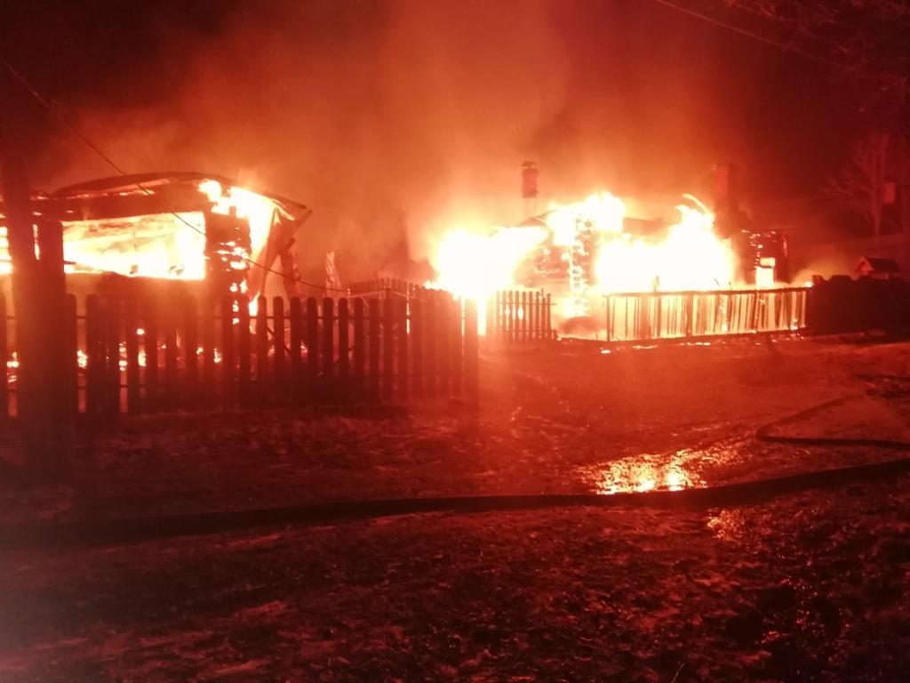 В праздничные дни в Кимрах и районе произошло 4 пожара, в которых погибло 3 человека