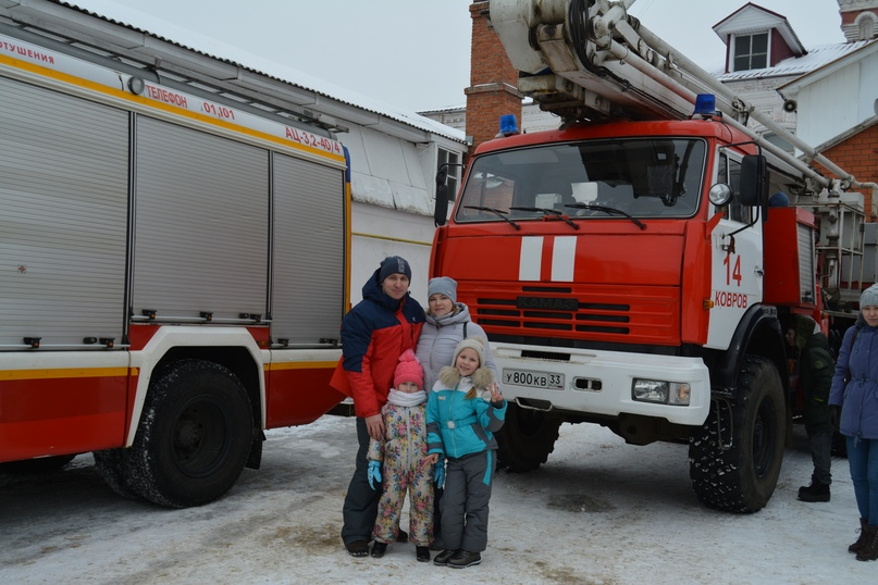 В Коврове прошел день открытых дверей посвященный 116-летнему дню рождения пожарного депо., изображение №30