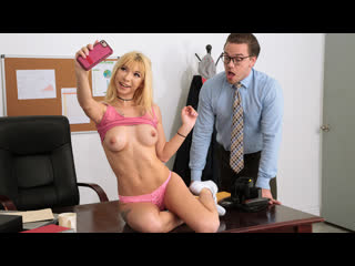 Kenzie Reeves - Selfies With The Dean [1080p, Porn, Teen, Sex Tiny,Blonde Blowjob Sloppy Deepthroat Gagging Creampie] - Brazzers