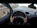 2015 Ford Fiesta 1.6L (105) POV TEST DRIVE