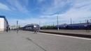 Поезд Киев-Херсон Интерсити по станции Николаев. Отправление.