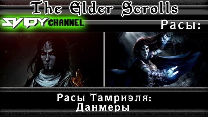 The Elder Scrolls Расы Тамриэля Данмеры Лор