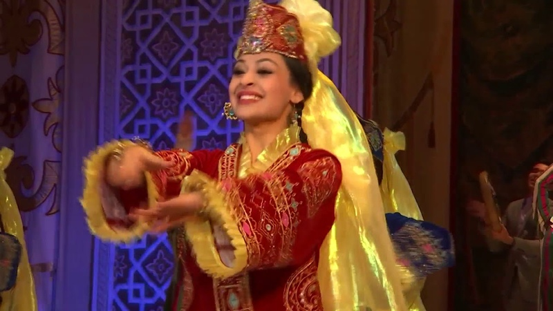Dancer of Uzbek folk and classical styles winner of the State Prize Nihol Dilorom Madraximova