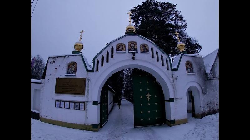 Кресто Воздвиженский Иерусалимский ставропигиальный женский монастырь в Горках Ленинских