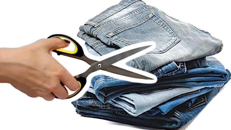 ¿ Qué hacer con Jeans viejos Manualidades Recicladas