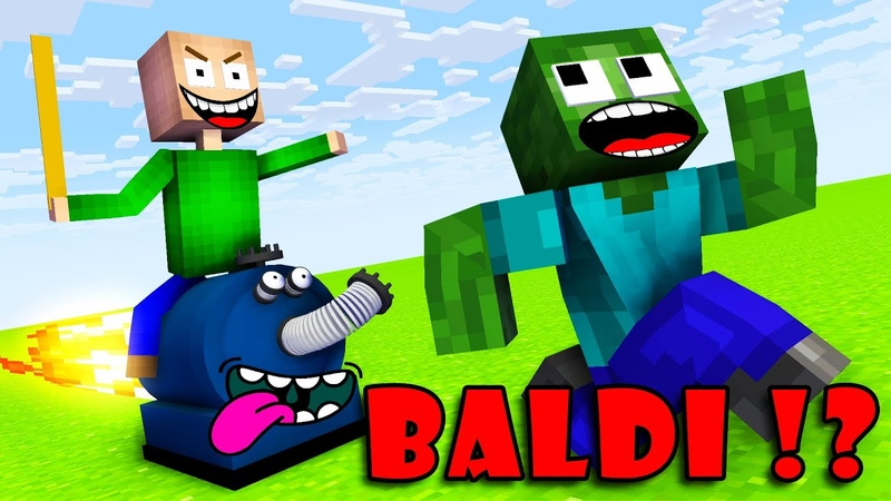Baldi and Teletubbies Invaded Monster School Minecraft Animation