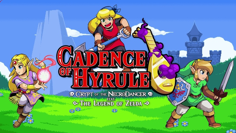 Minigame Cadence of Hyrule Crypt of the NecroDancer feat The Legend of Zelda