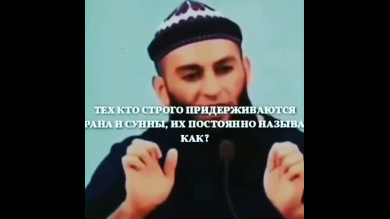 Термин Ваххабит
