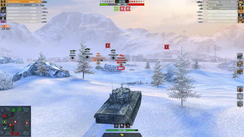 World of Tanks Blitz Leopard 1