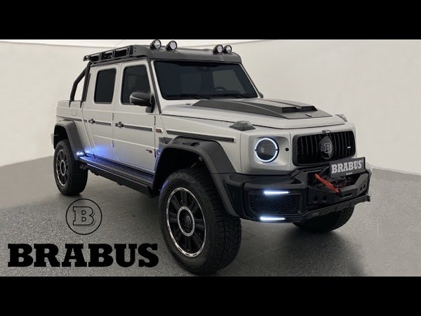 NEW G800 Brabus XLP First look of the most BRUTAL Pick up
