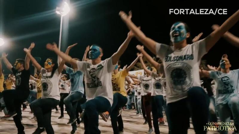 Dança pró-Bolsonaro - OFICIAL | Deus acima de todos