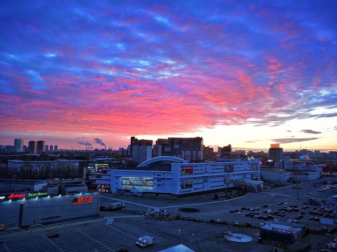 Рождение нового дня! Восходы в Химках ничуть не